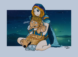 Pudge Persona with Crystal Maiden