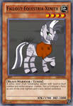 Fallout Equestria-Xenith YuGiOh Card by Digigex90