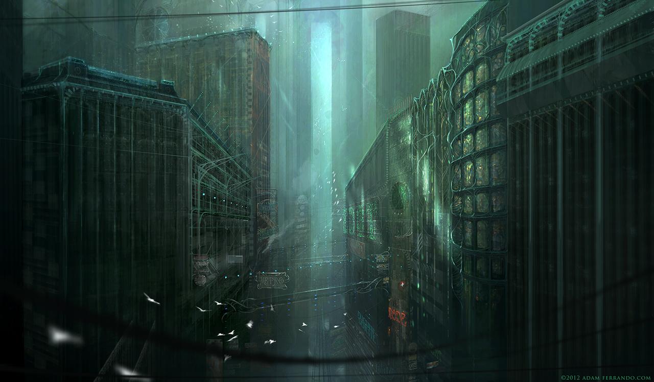 Vert Noir by editmode