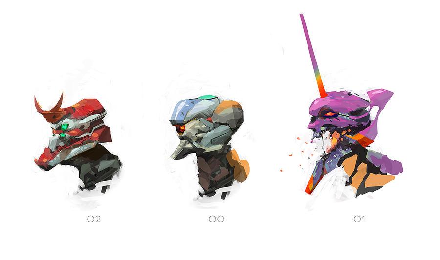 eva doodles by editmode