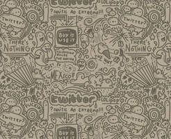 Twitter pattern background by Ainon
