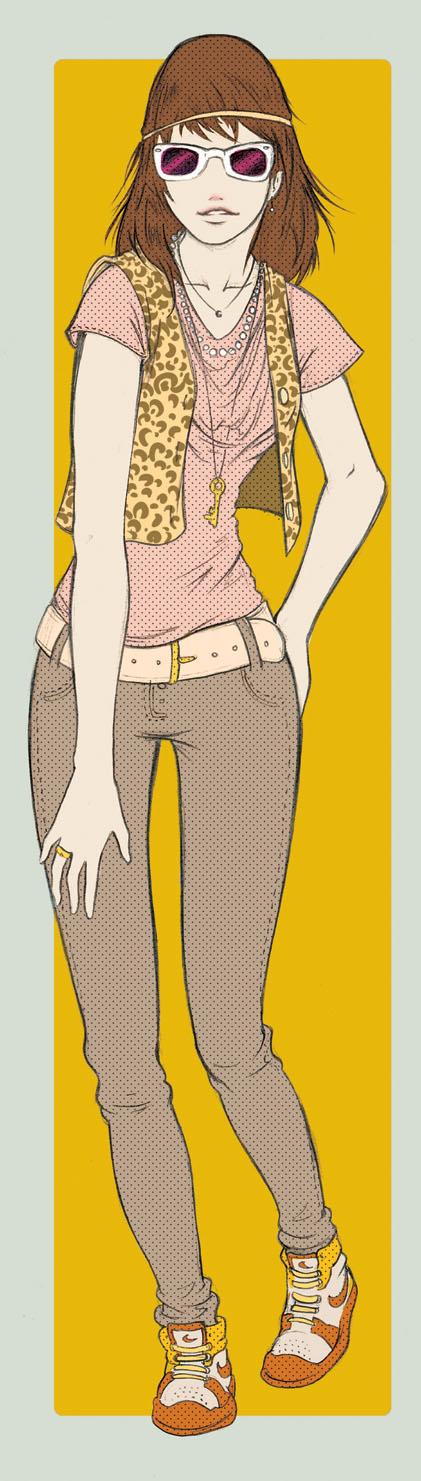 it Girl by Ainon