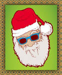 Santa Hipster Claus