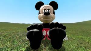 Mickey Mouse's Feet Tease
