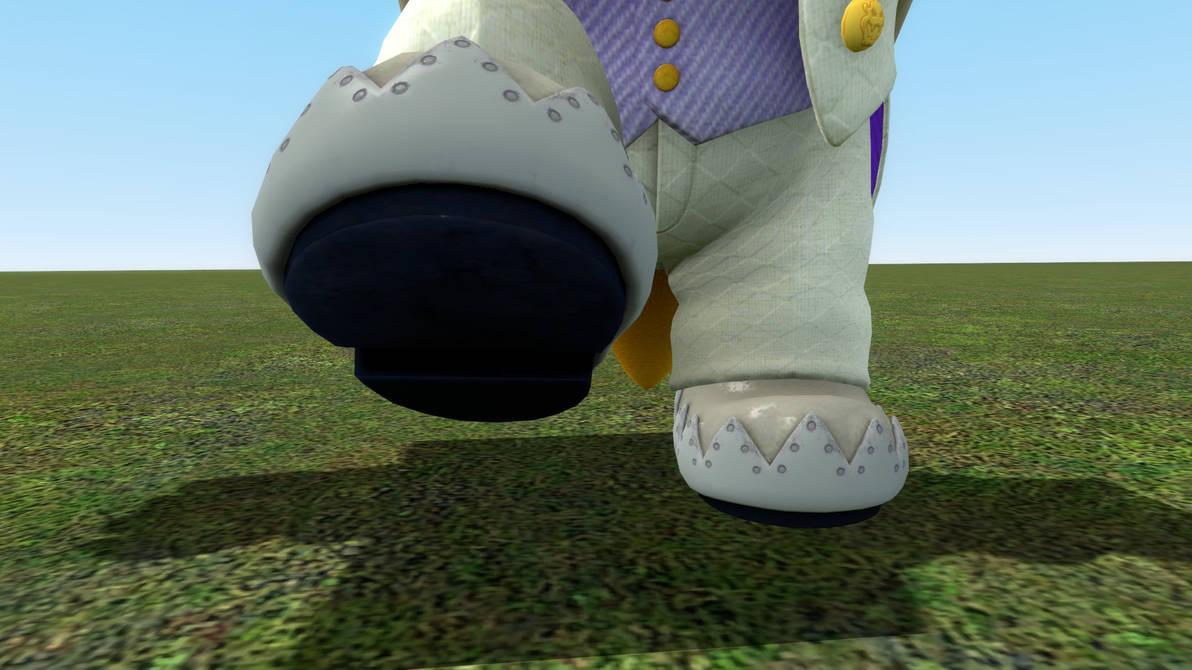 Wedding Bowser's Feet Posing