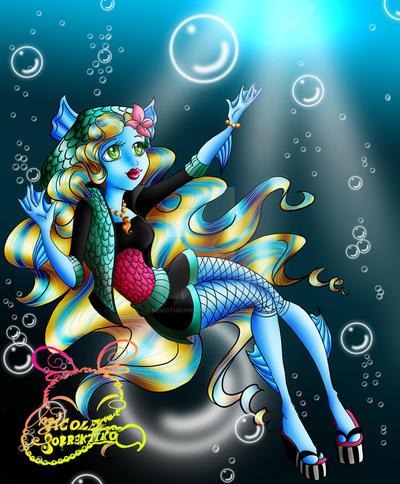 Monster High Lagoona Blue Basic By NemoTurunen