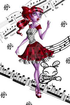 Monster High: Operetta Dot Dead Gorgeous
