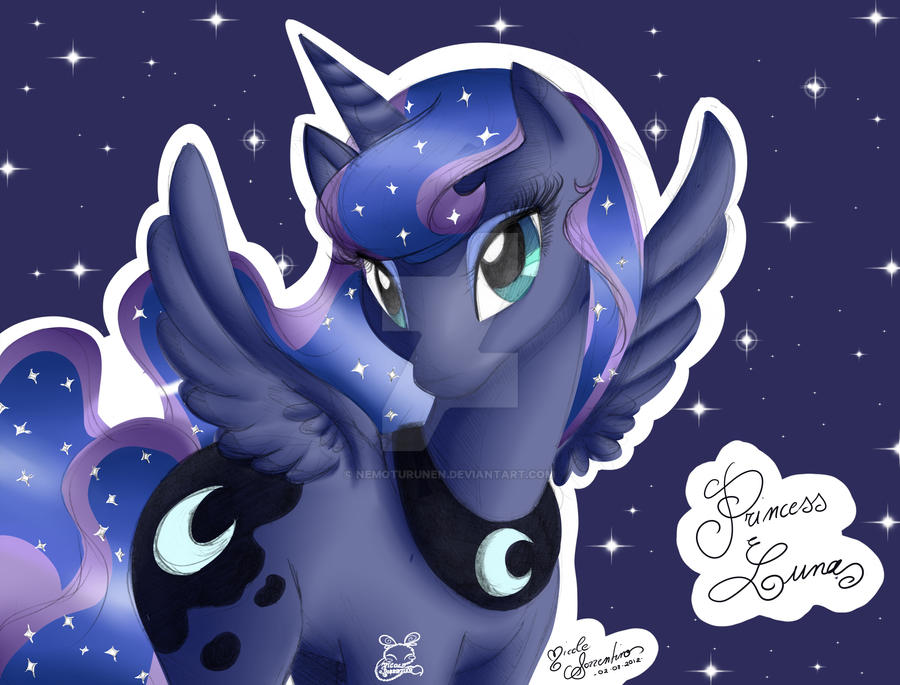 Princess Luna, The Forgotten One by NemoTurunen