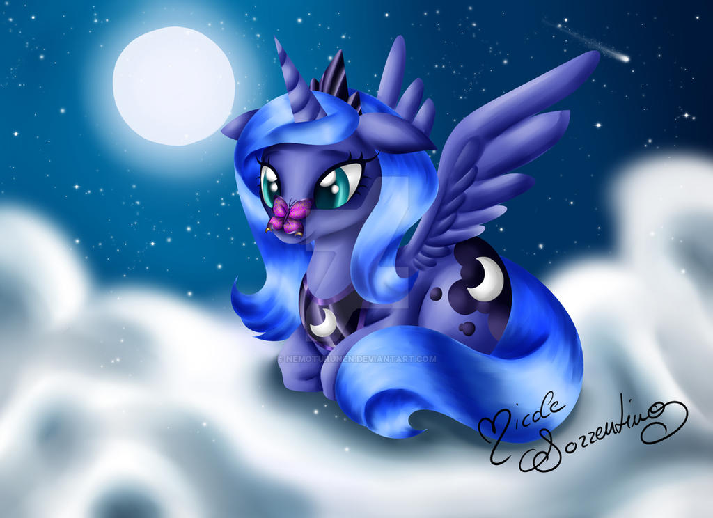 Woona - Beneath the Winter Moon by NemoTurunen