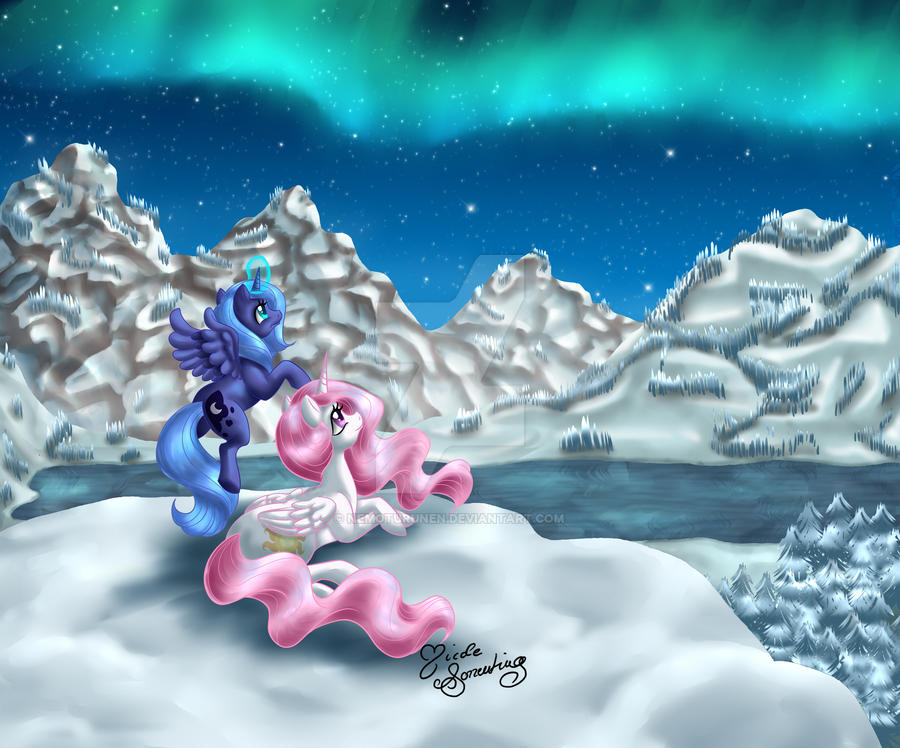 Winter Tundra - One Thousand Years Ago by NemoTurunen