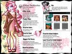 Monster High OC: Albine DesRoches