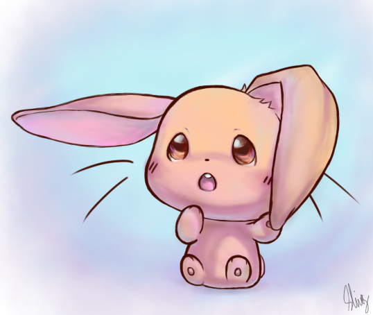 Baby Bunny by B... Cute Baby Bunny Drawings