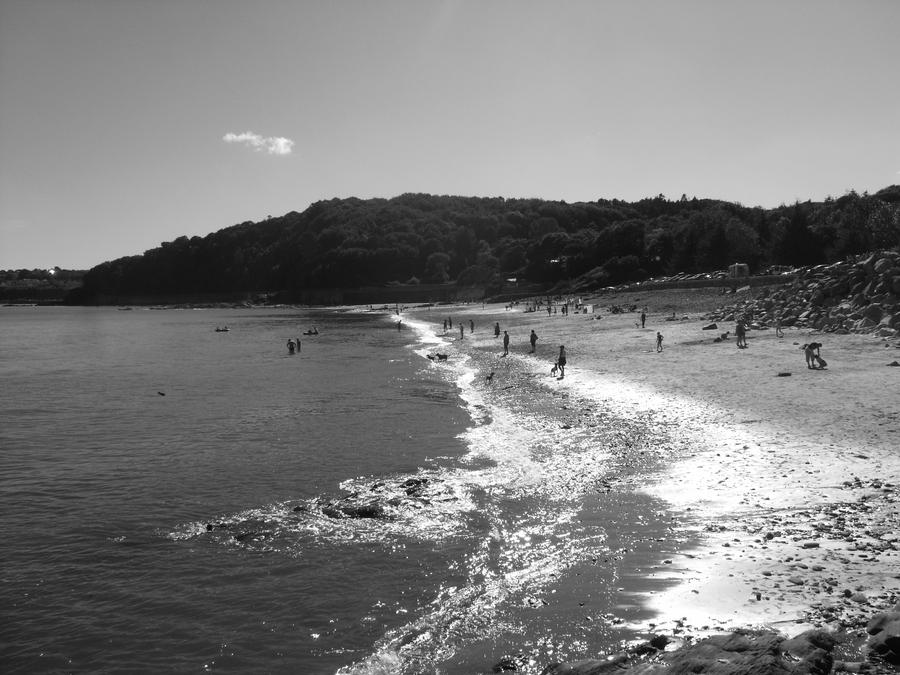 Black And White Photography Beach Landscapes Black And White Beach