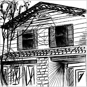 My house - emo style by RaineCat
