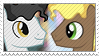 My little pony Milky Way x Capuccino stamp. by Cloudsdale