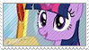 Twilight Sparkle stamp. by Cloudsdale