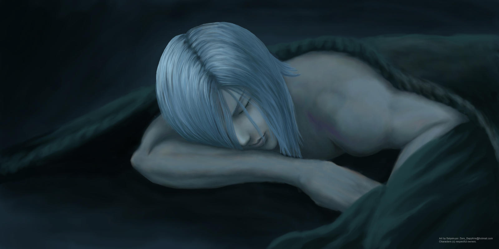 Sleepy Kadaj by Saiyakupo