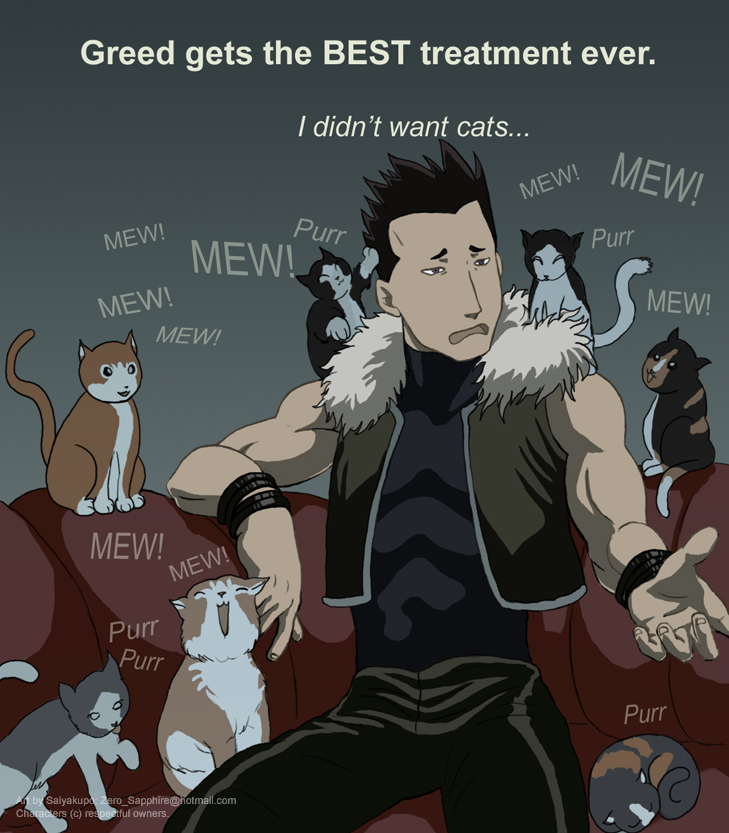 FMA Greed's Great Treatment By Saiyakupo On DeviantArt