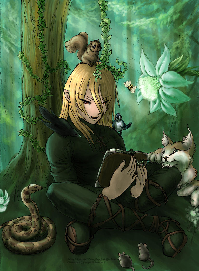 forest elf and the - photo #8