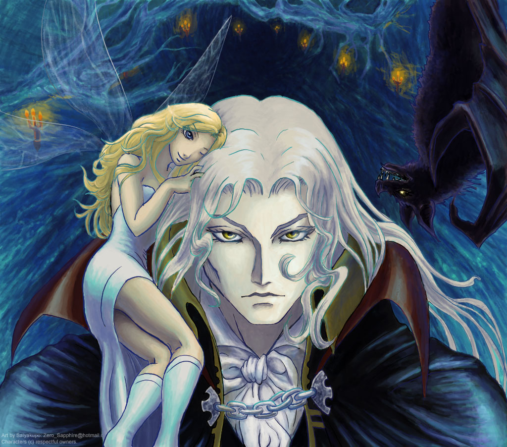 Castlevania - Alucard by Saiyakupo