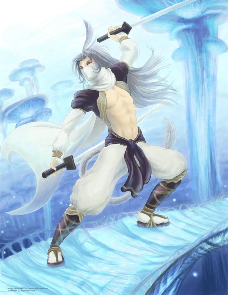 FF9 - Ninja Kuja by Saiyakupo