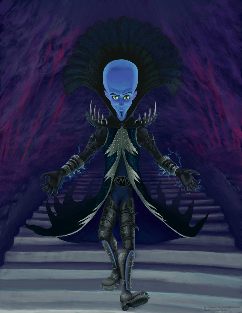 Megamind - Black Mamba by Saiyakupo
