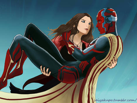 Marvel - Scarlet Witch Has a Vision