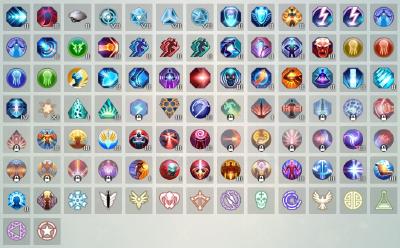 Symbols list by Keygoshima