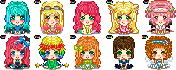 Set1 - Seiza Pixel Icons by rei-baahk