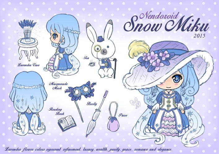 Nendoroid Snow Miku 2015 by rei-baahk
