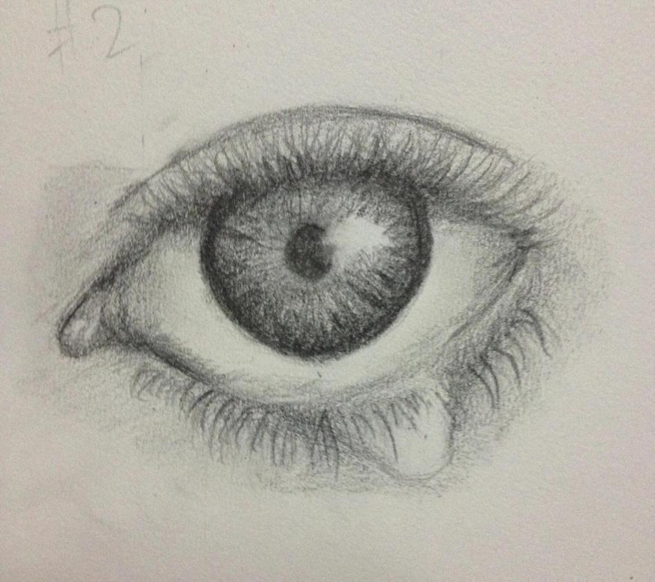 Drawing A Teardrop: Eye With A Teardrop By AnwarArt18 On DeviantArt