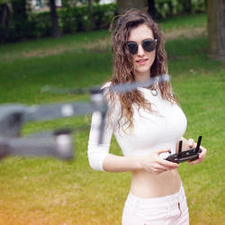 Flying my drone! by piperblush