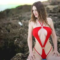 Micro Sling Shot Bikini by piperblush