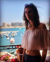 Terrace on the Mediterranean by piperblush