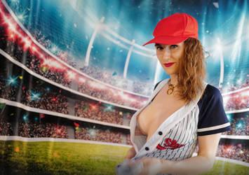 Baseball Girl! by piperblush
