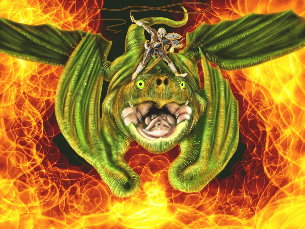 Snap dragon rider 1 by Samuel-Paul