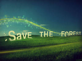 Save The Forest by L2design