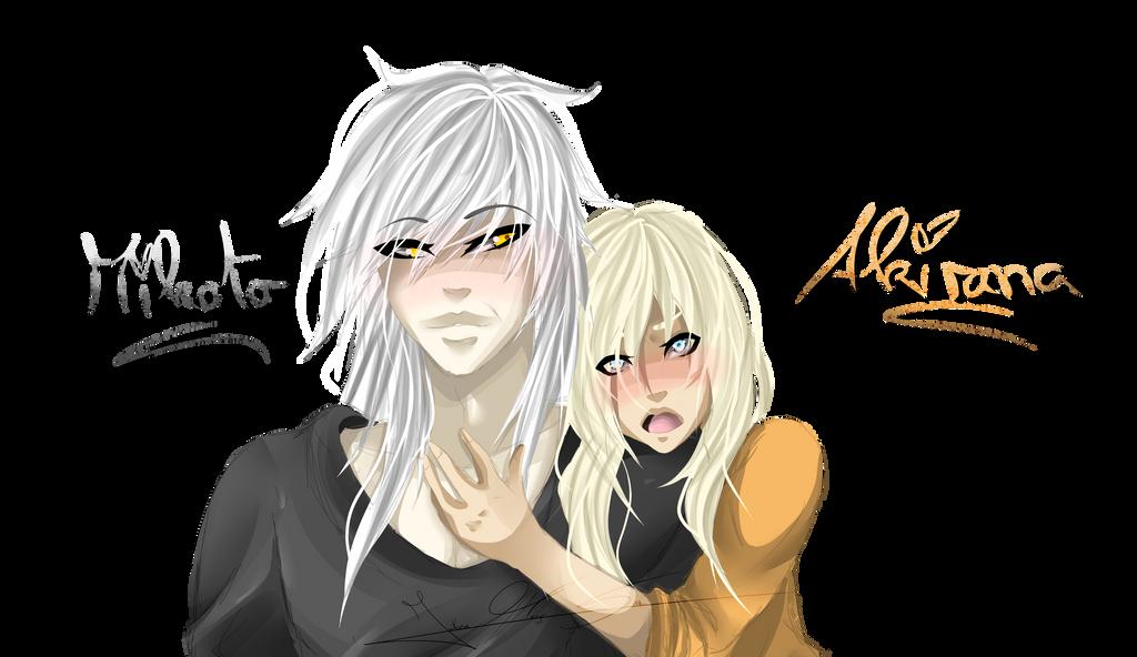 Akiran x Mikoto ohne BG