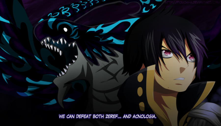 Zeref and Acnologia by...