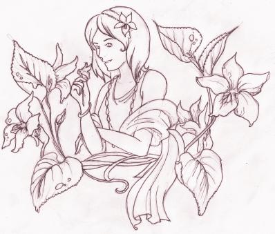 Freebie Sketch III by Besott