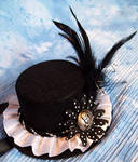 SteamPunk hat with skull