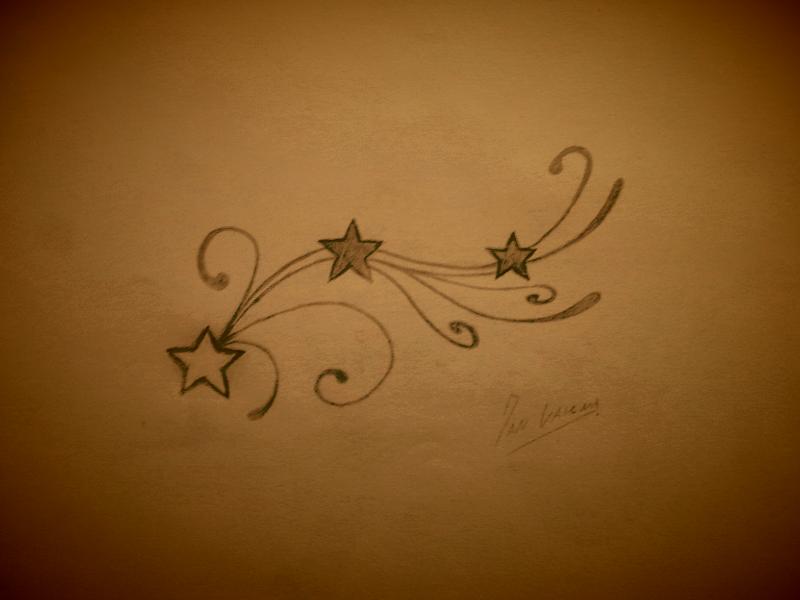 stars 39 n swirls tattoo design by studiumdesign on deviantart. Black Bedroom Furniture Sets. Home Design Ideas