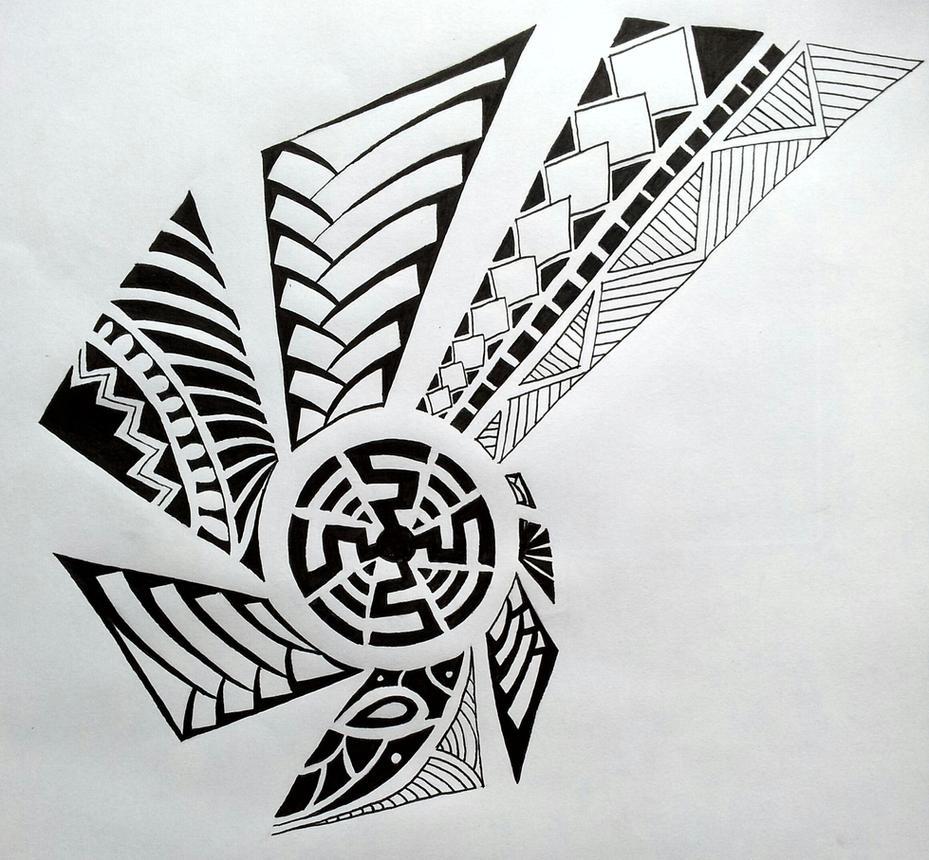 Maori Tattoo Designs Wallpaper: Maori Tattoo Design By StudiumDesign On DeviantArt