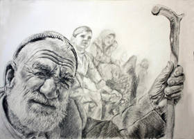 old man by amir-gallery