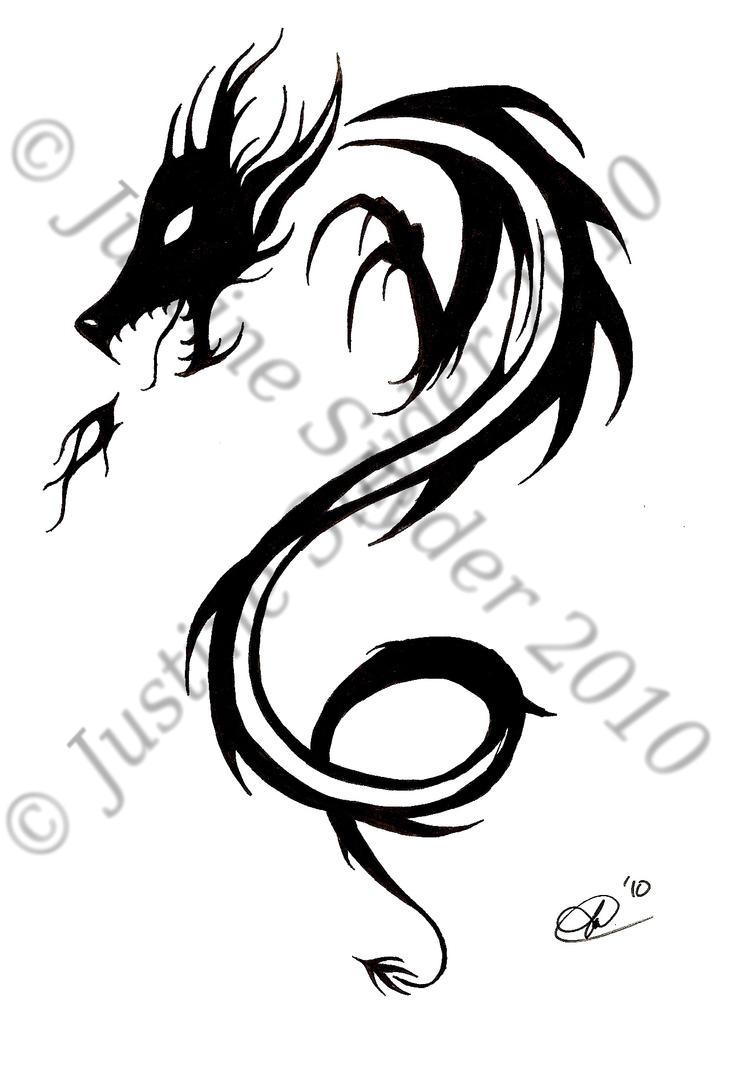 Great Dragon Tattoo Designs