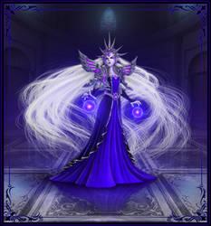 Scelestus, Blacklight Queen by GravityArchangel