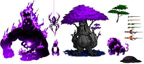 Creatures Sneak Preview by GravityArchangel