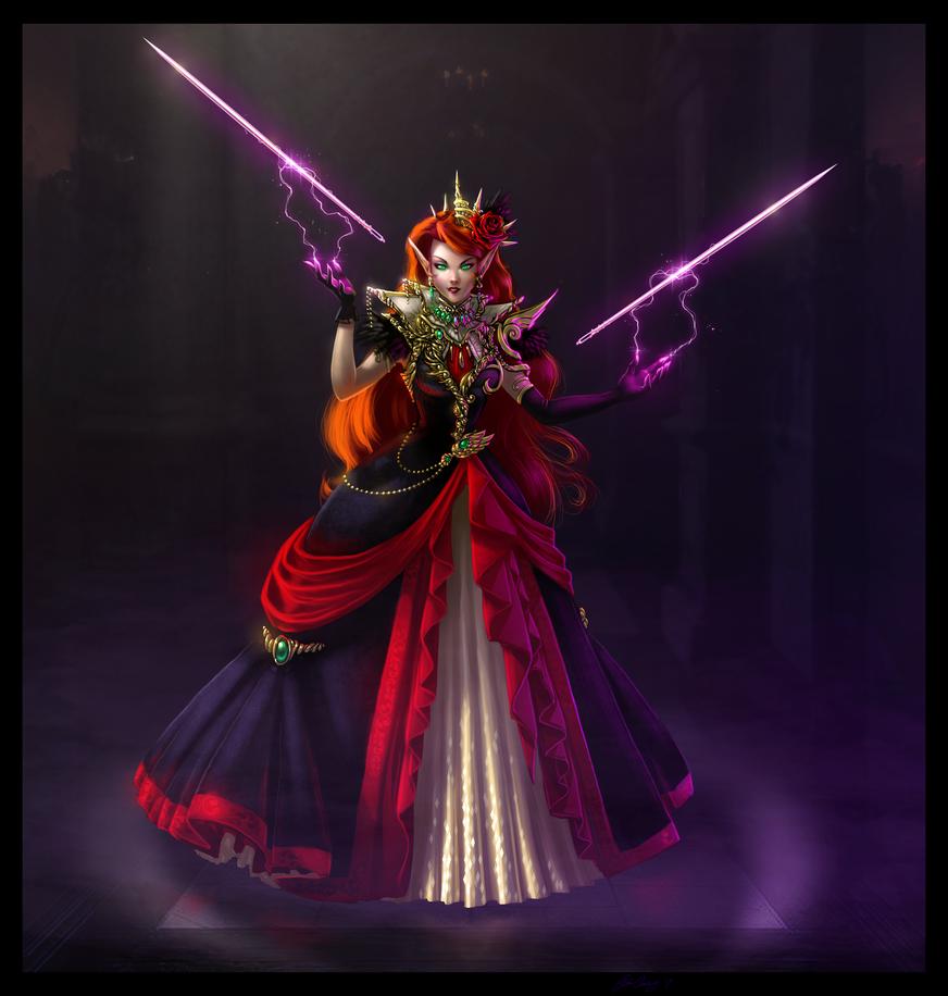 Vivienne the Arcane Seamstress by GravityArchangel