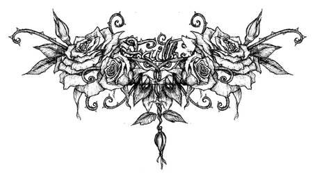 Rose Tattoo by GravityArchangel