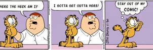 Family Guy Garfield Crossover